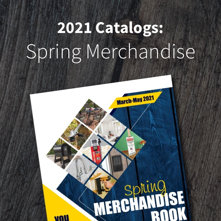 Shop our Spring Merchandise Book