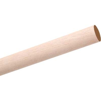 Waddell 5/8 In. x 48 In. Hardwood Dowel Rod