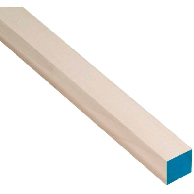Waddell 3/8 In. x 36 In. Square Hardwood Dowel Rod