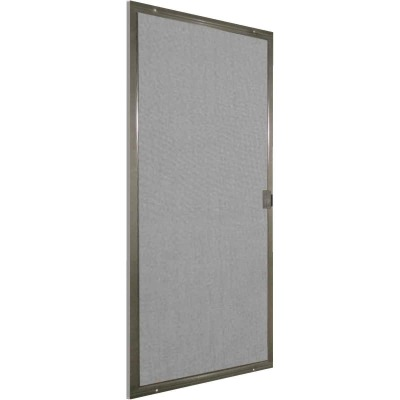 Precision Breezeway 36 In. Bronze Steel Replacement Patio Door Screen