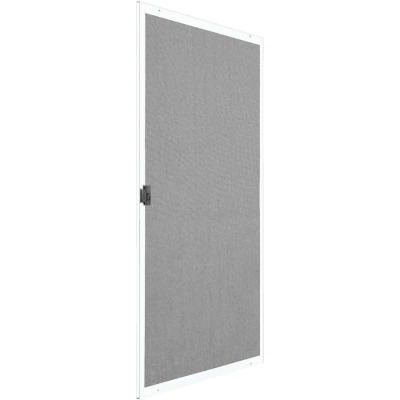 Precision Breezeway 36 In. White Steel Replacement Patio Door Screen