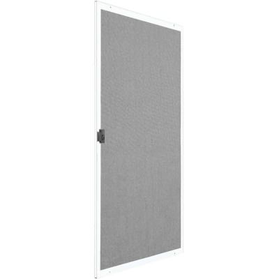 Precision Breezeway 30 In. White Steel Replacement Patio Door Screen