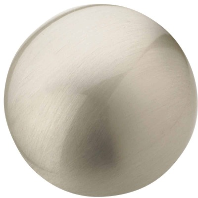 Amerock Allison Edona Satin Nickel 1-1/4 In. Cabinet Knob