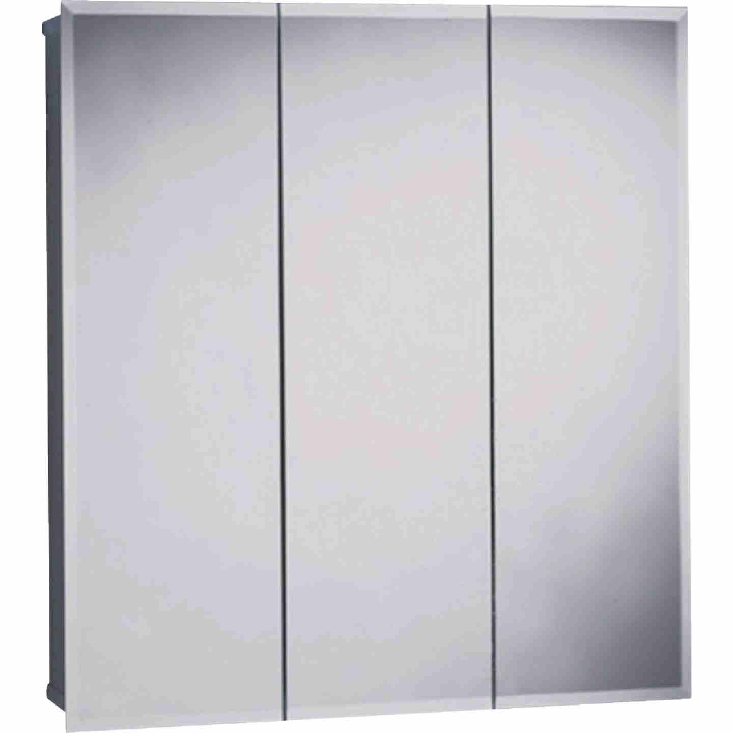 Zenith Frameless Beveled 23-5/8 In. W x 25-1/2 In. H x 4-1/2 In. D Tri-View Surface Mount Medicine Cabinet Image 1