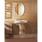 Zenith Frameless Beveled 21 In. W x 31 In. H x 4 In. D Single Mirror Surface Mount Oval Medicine Cabinet Image 2