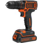 Black & Decker 20 Volt MAX Lithium-Ion 3/8 In. Cordless Drill Kit Image 1
