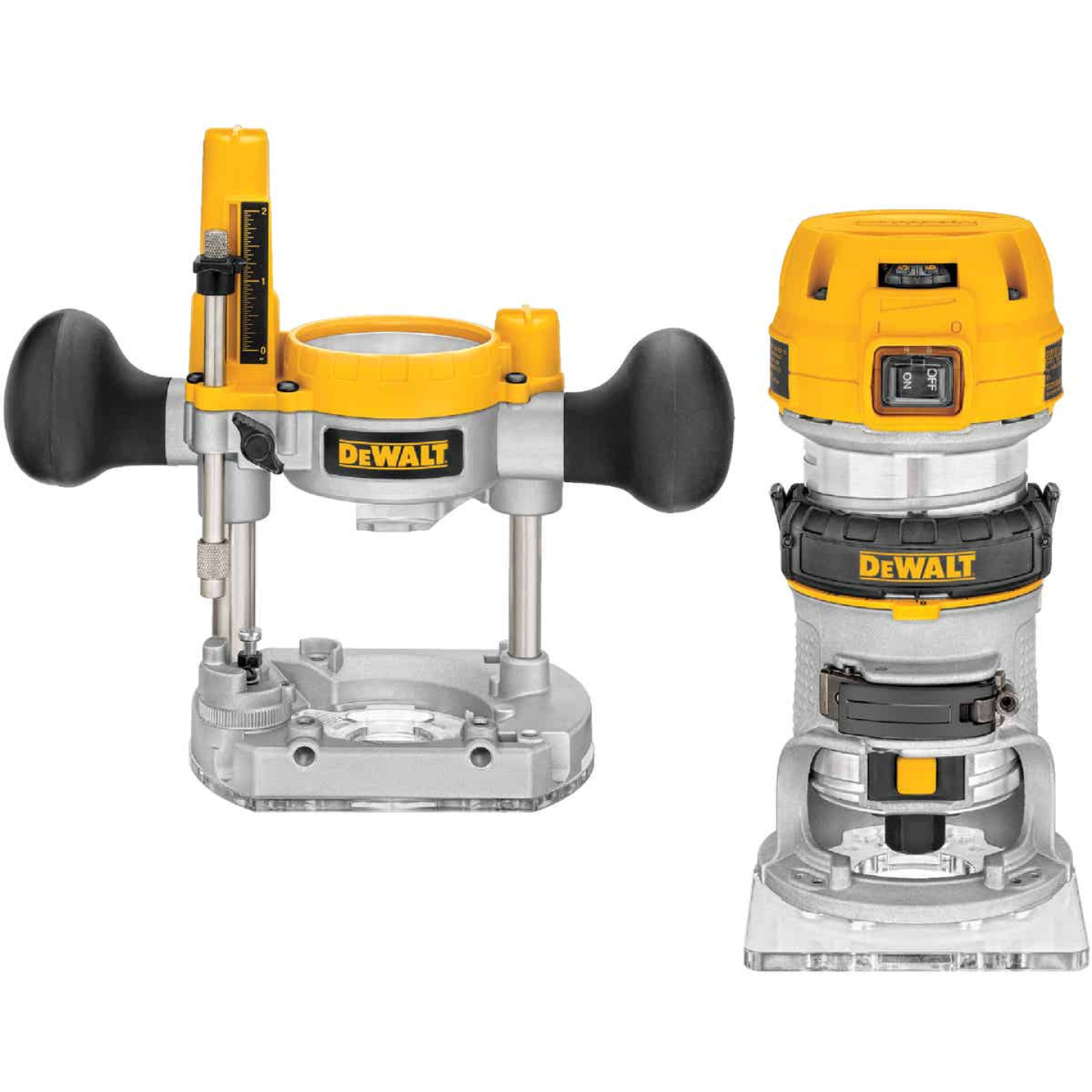 DeWalt 7.0A 16,000 to 27,000 rpm Router Kit Image 1