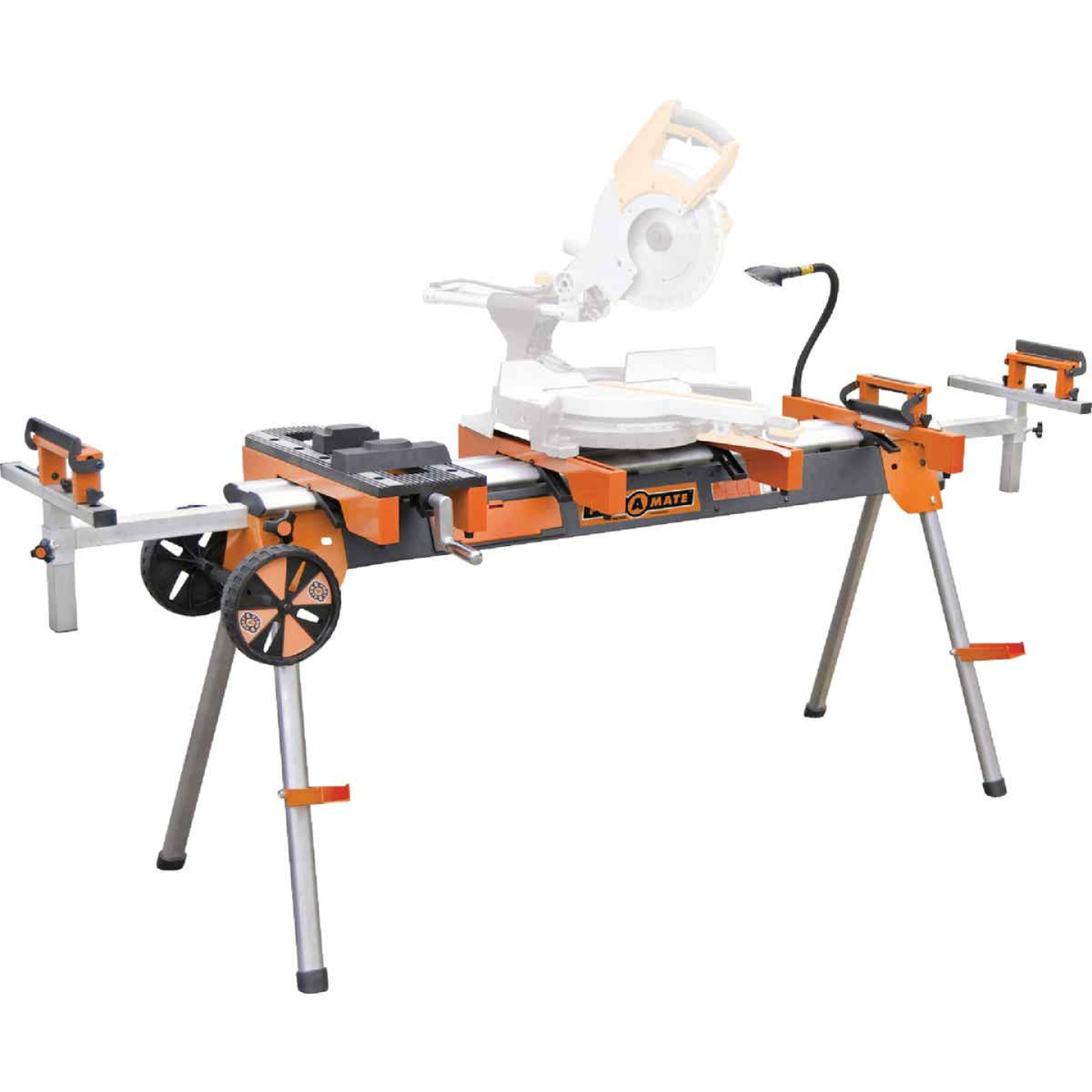 Power Mate Folding Workstation for Miter Saw Image 1