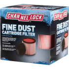 Channellock Cartridge Fine Dust 5 to 20 Gal. Vacuum Filter Image 2