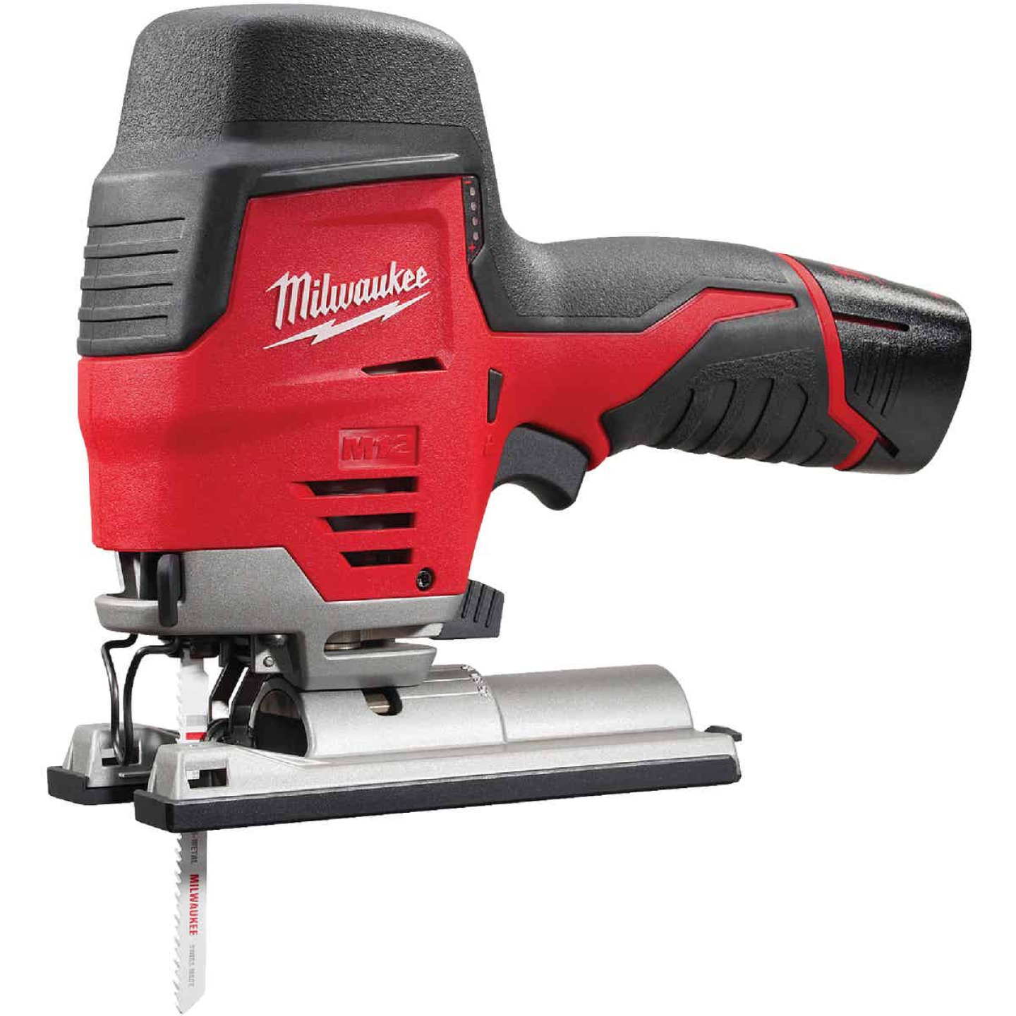 Milwaukee M12 12 Volt Lithium-Ion 1.5 Ah Cordless Jig Saw Kit Image 1