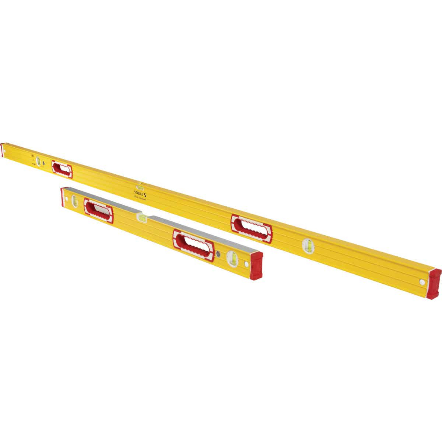 Stabila 78 In. Aluminum Jamber Box Level & 24 to 40 In. Extendable Level Set Image 2