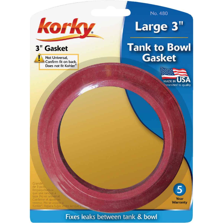Korky 3 In. Sponge Rubber Tank to Bowl Gasket  Image 2