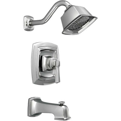 Moen Boardwalk Chrome Single-Handle Lever Tub and Shower Faucet