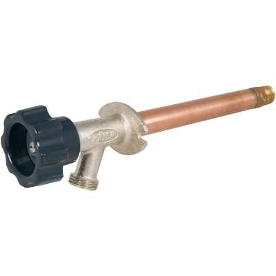 Prier 1/2 In. SWT x 1/2 In. IPS x 4 In. Frost Free Wall Hydrant