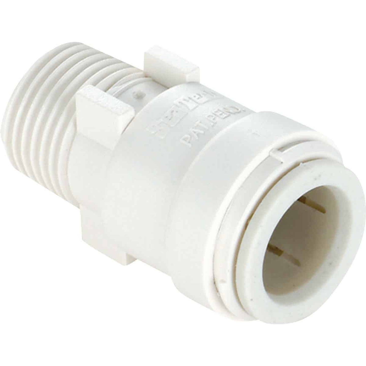 Watts 1/2 In. CTS x 1/2 In. MPT Quick Connect Plastic Connector Image 2