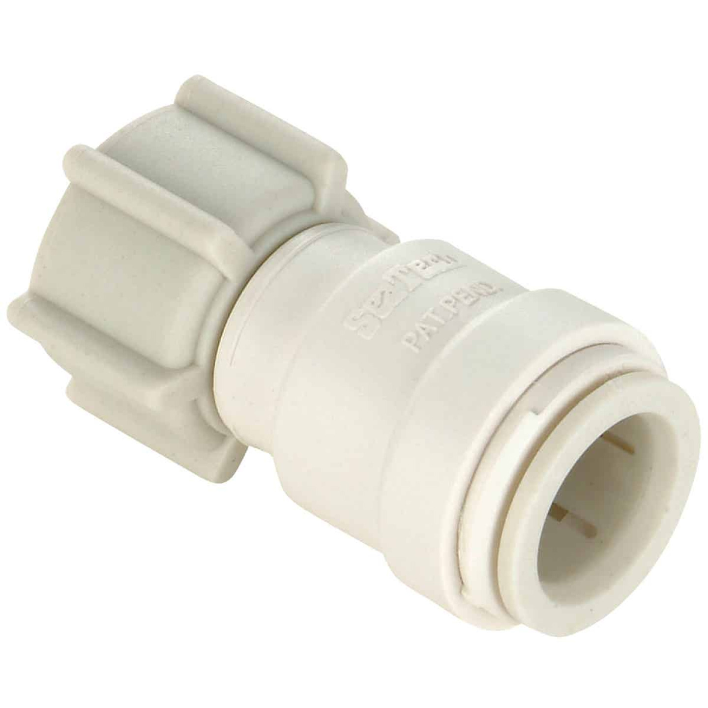 Watts 1/2 In. CTS x 1/2 In. FPT Quick Connect Swivel Plastic Connector Image 1
