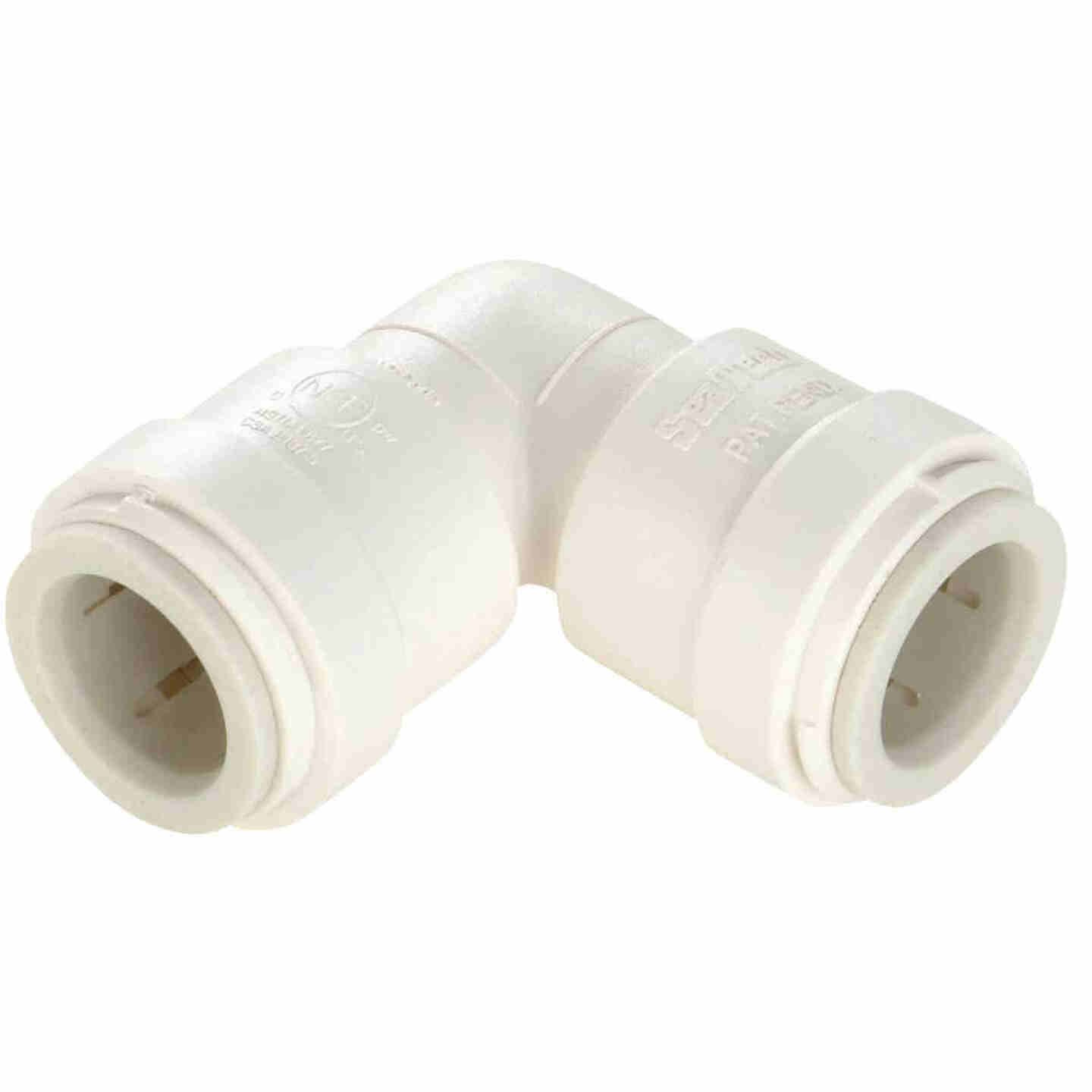 Watts 1/2 In. x 1/2 In. CTS 90 Deg. Quick Connect Plastic Elbow (1/4 Bend) Image 1