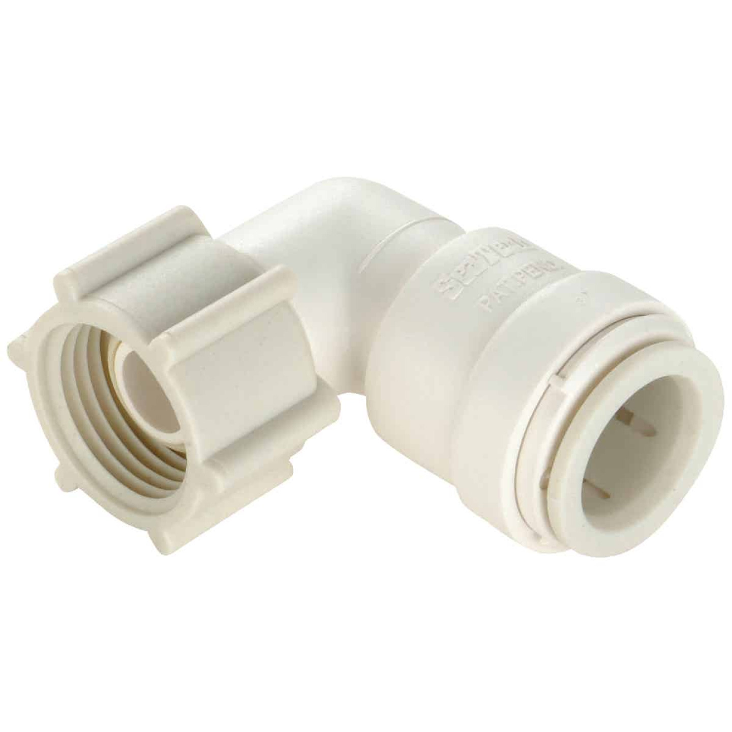 Watts 1/2 In. CTS x 7/8 In. BC 90 Deg. Quick Connect Plastic Elbow (1/4 Bend) Image 1