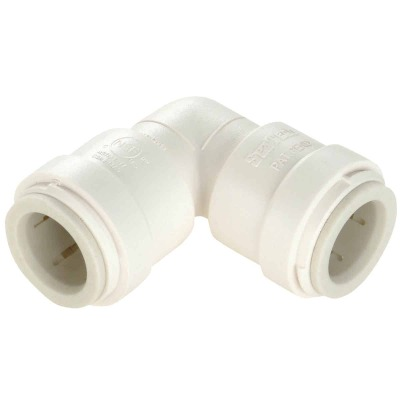 Watts 3/4 In. x 3/4 In. CTS 90 Deg. Quick Connect Plastic Elbow (1/4 Bend)