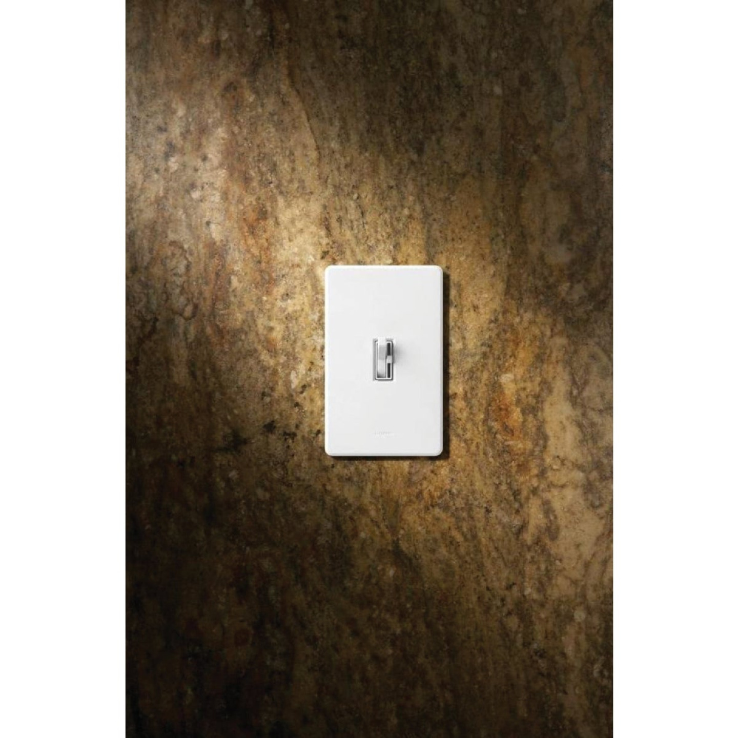 Lutron Toggler Incandescent/Halogen/LED/CFL White Slide Dimmer Switch Image 8