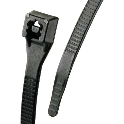 Gardner Bender Xtreme Ties 11 In. x 0.17 In. Black Nylon Cable Tie (100-Pack)