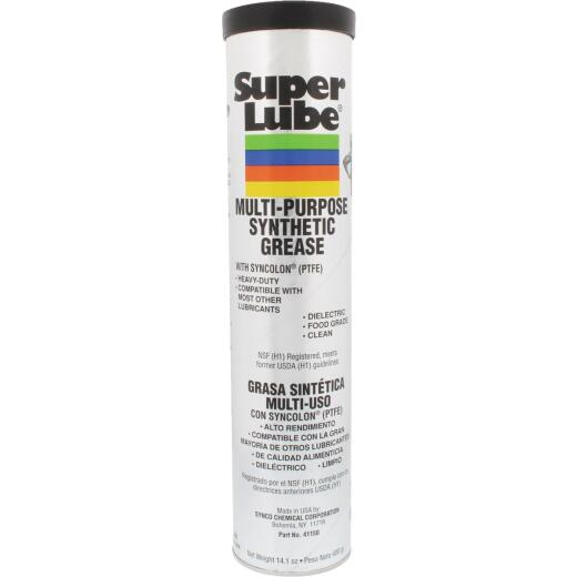 Super Lube 14 Oz. Cartridge Synthetic Multi-Purpose Grease