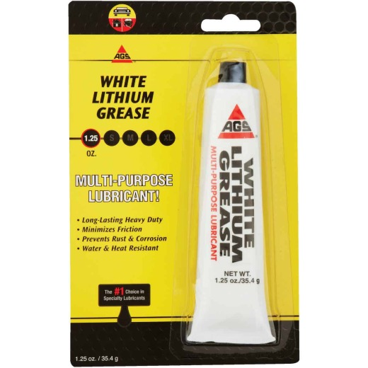 AGS Lith-Ease 1.25 Oz. Tube White Lithium Grease