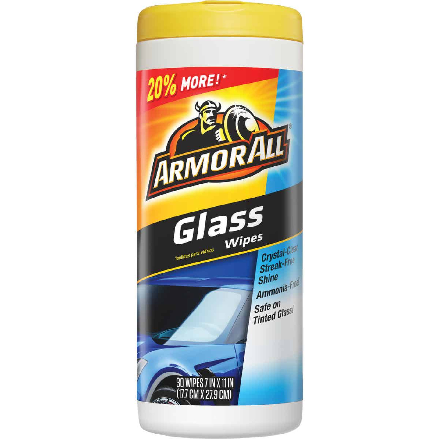 Armor All Glass Wipes (30-Count) Image 1