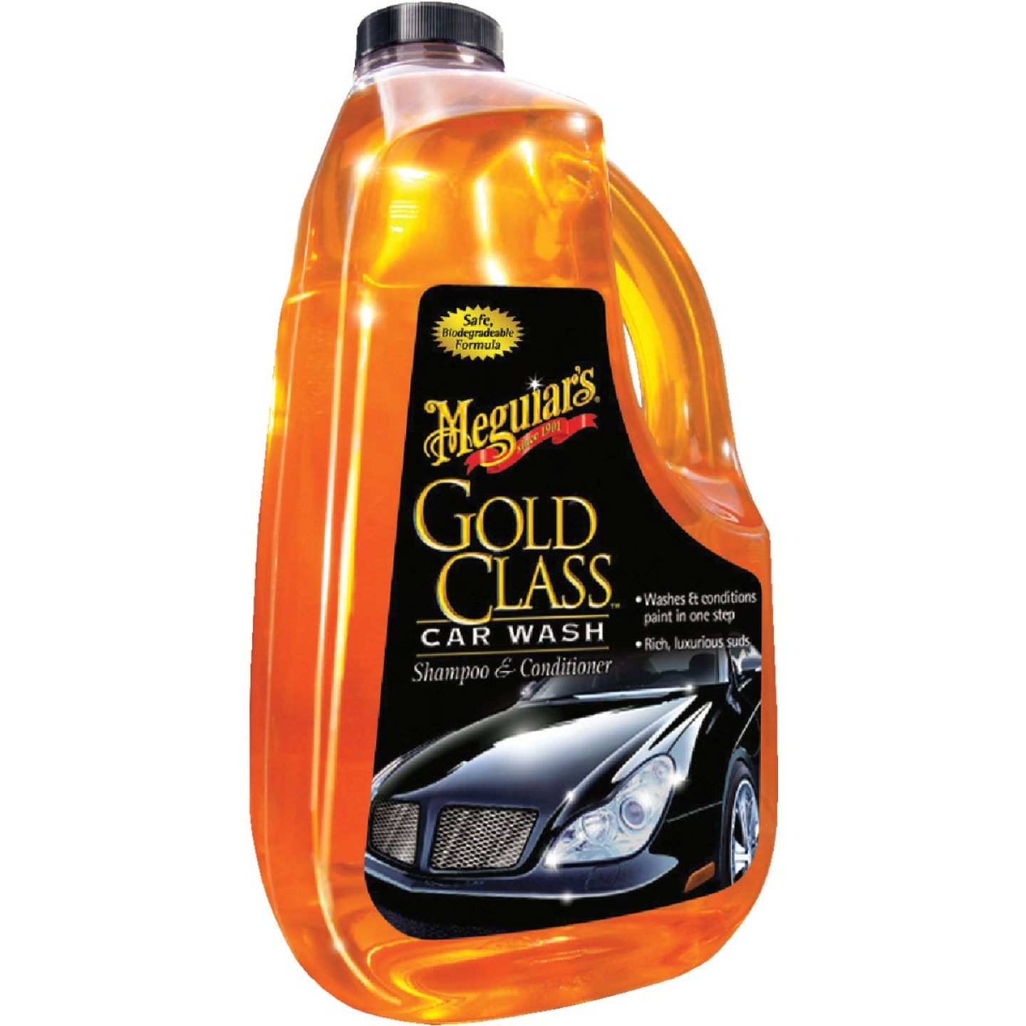 Meguiars 64 Oz. Liquid Gold Class Car Wash Image 1