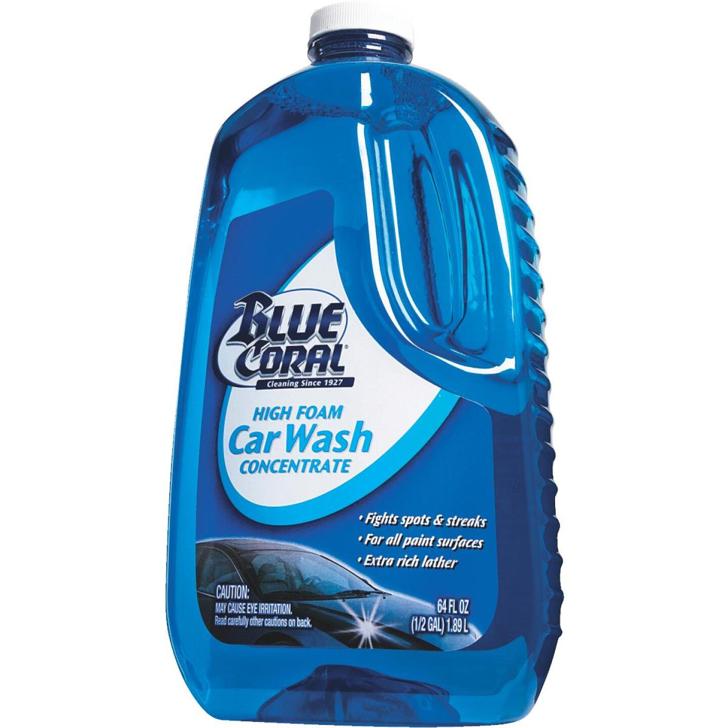 Blue Coral 64 Oz. Liquid High Foam Concentrate Car Wash Image 6