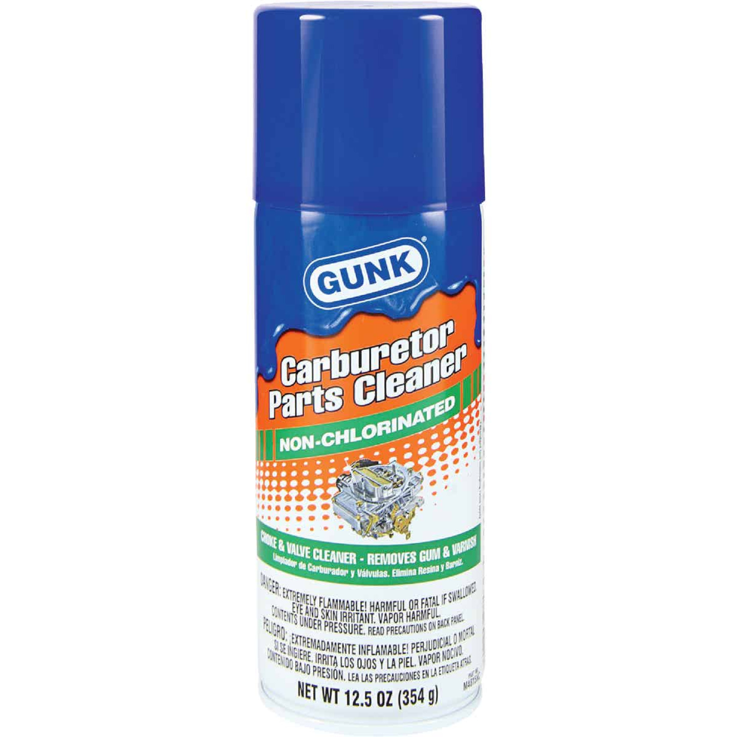 Gunk 12.5 Oz Aerosol Carburetor Cleaner Image 1