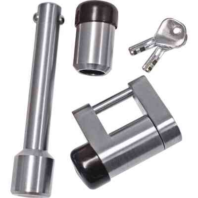 Reese Towpower Chrome-Plated 5/8 In. Dia. Professional Receiver/Coupler Lock Set