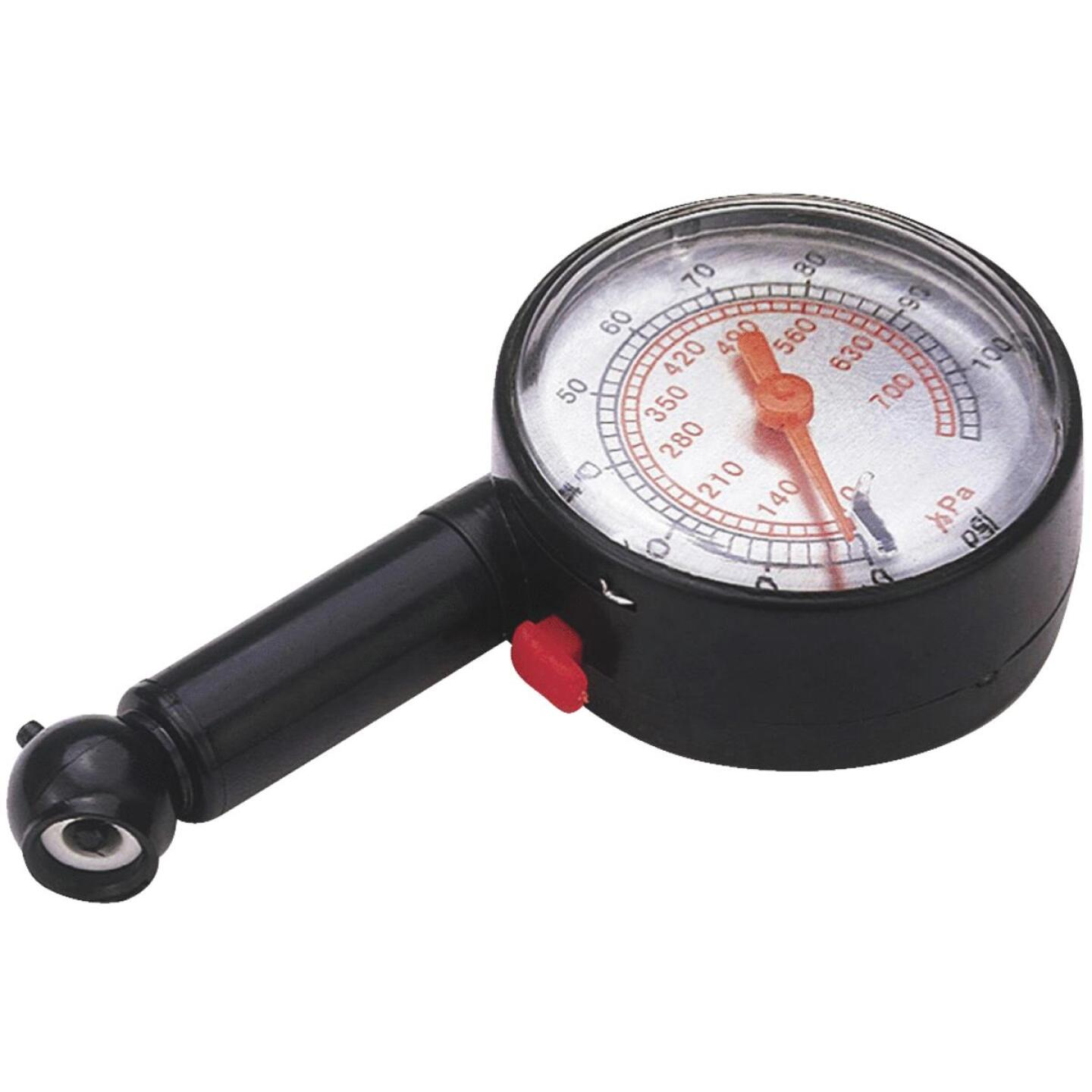 Custom Accessories 10-100 psi Tire Gauge Image 1