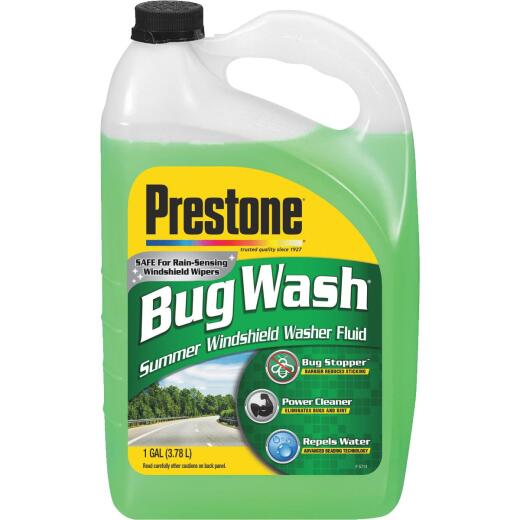 Prestone 1 Gal. +32 Deg F Temperature Rating Summer Blend Windshield Washer Fluid