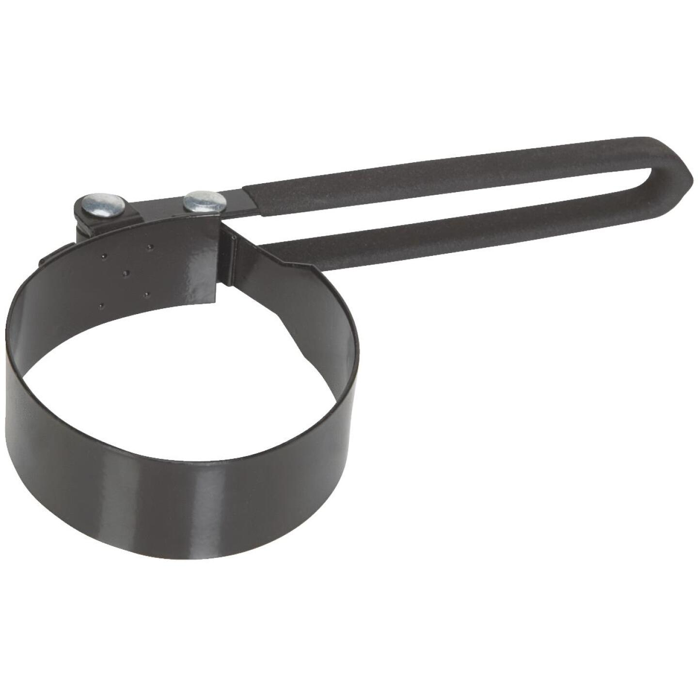 Plews Lubrimatic Steel Vinyl Coated Oil Filter Wrench Image 1