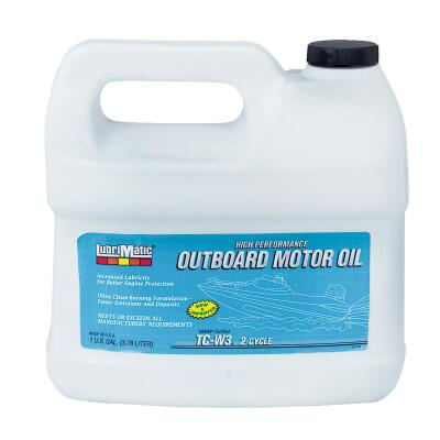 LubriMatic 1 Gal. Outboard 2-Cycle Motor Oil