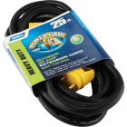 Camco PowerGrip 25Ft. 30A 125 10 Gauge RV Extension Cord Image 2