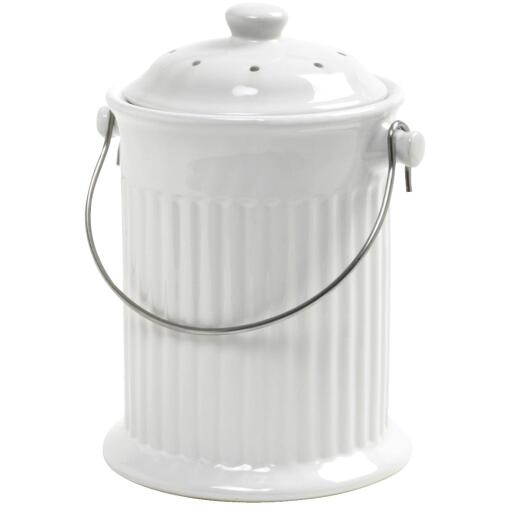 Norpro 1 Gallon Ceramic Compost Keeper