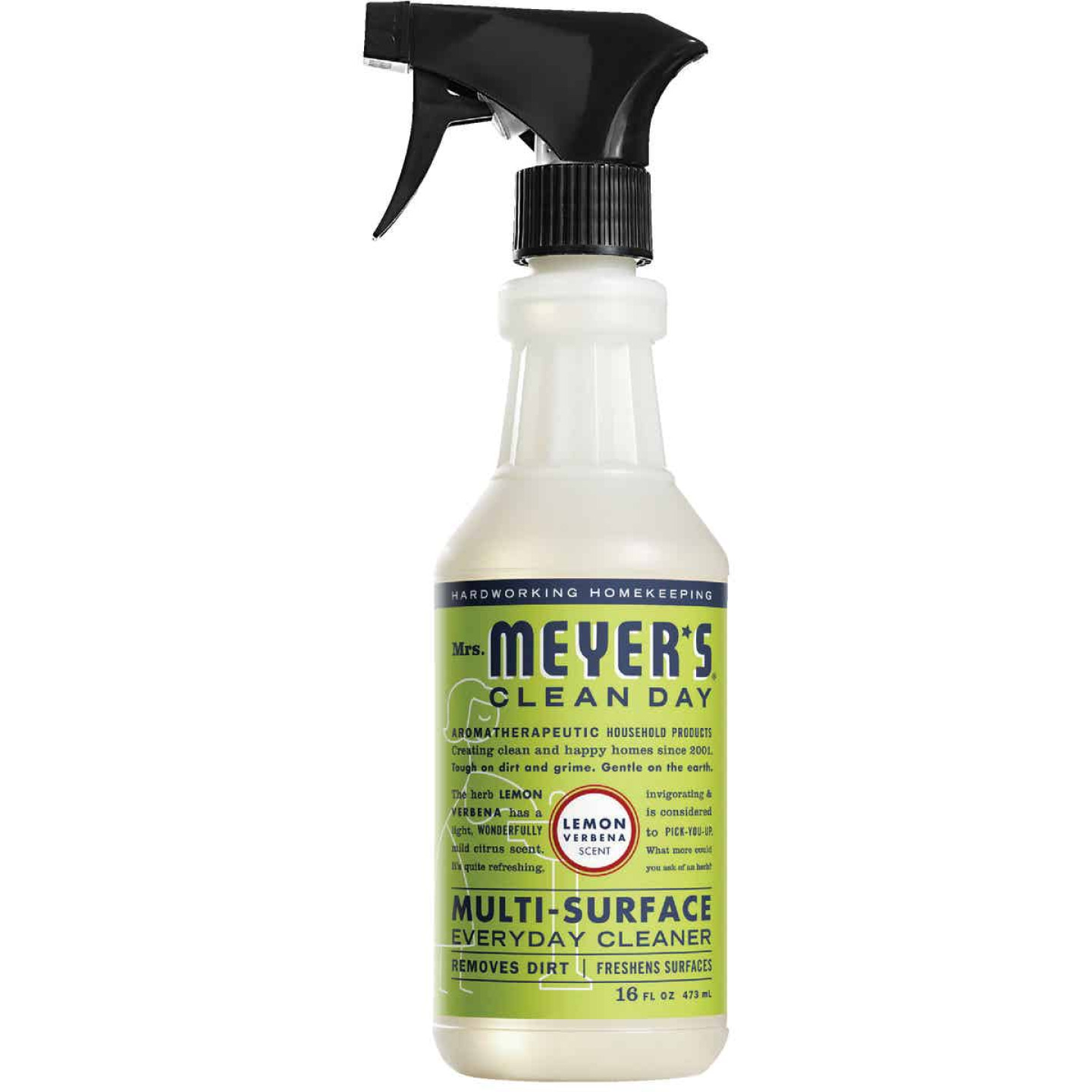 Mrs. Meyer's Clean Day 16 Oz. Lemon Verbena Multi-Surface Everyday Cleaner Image 1