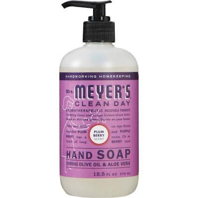 Mrs. Meyer's 12.5 Oz. Clean Day Plumberry Hand Soap