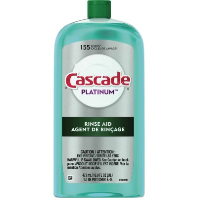 Cascade Platinum 16 Oz. Dishwasher Rinse Aid and Drying Agent