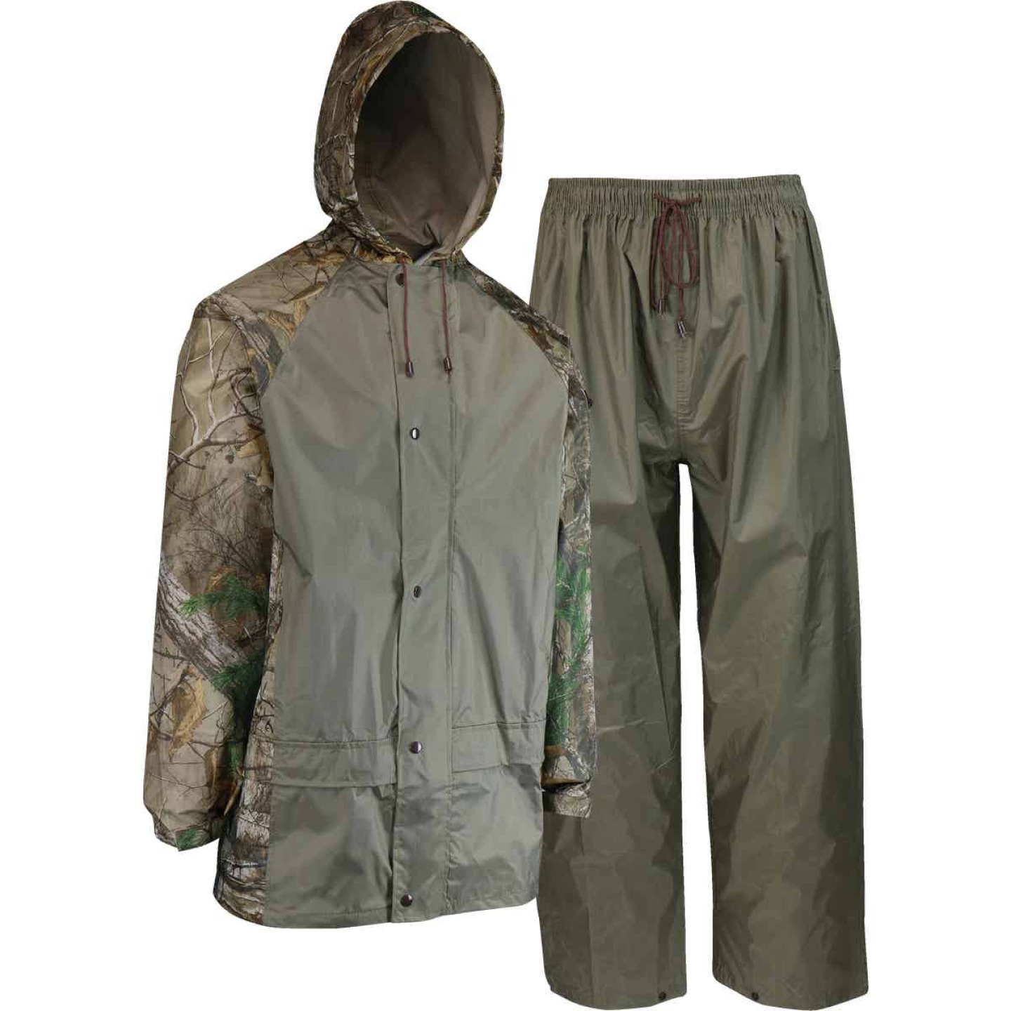 West Chester 3XL 2-Piece RealTree Camo Polyester Rain Suit Image 1