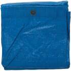 Do it Best Blue Woven 9 Ft. x 12 Ft. Medium Duty Poly Tarp Image 2