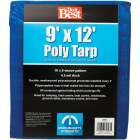 Do it Best Blue Woven 9 Ft. x 12 Ft. Medium Duty Poly Tarp Image 1