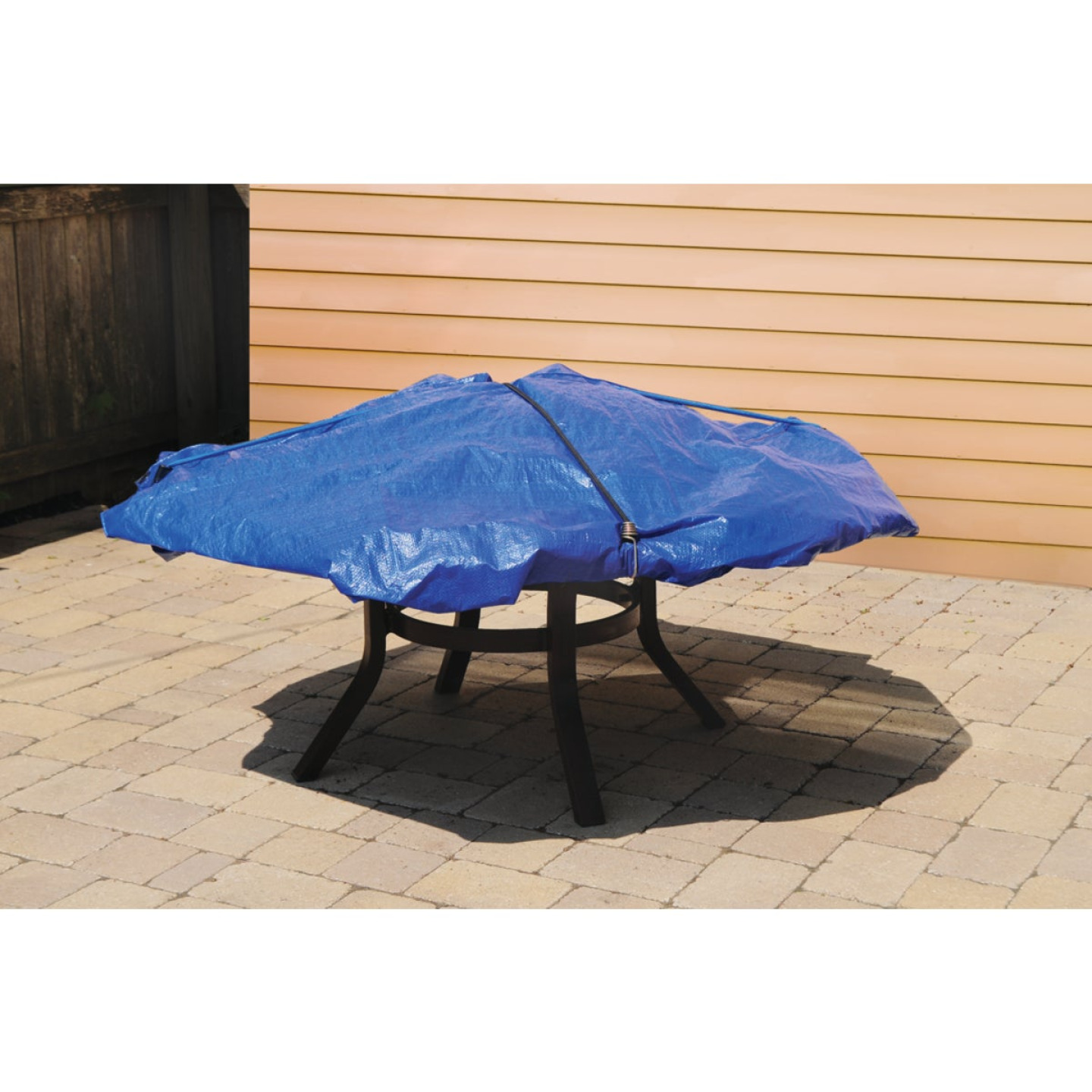 Do it Best Blue Woven 8 Ft. x 10 Ft. Medium Duty Poly Tarp Image 4