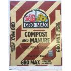 Gro Max 0.75 Cu. Ft. Composted Cow Manure Image 1