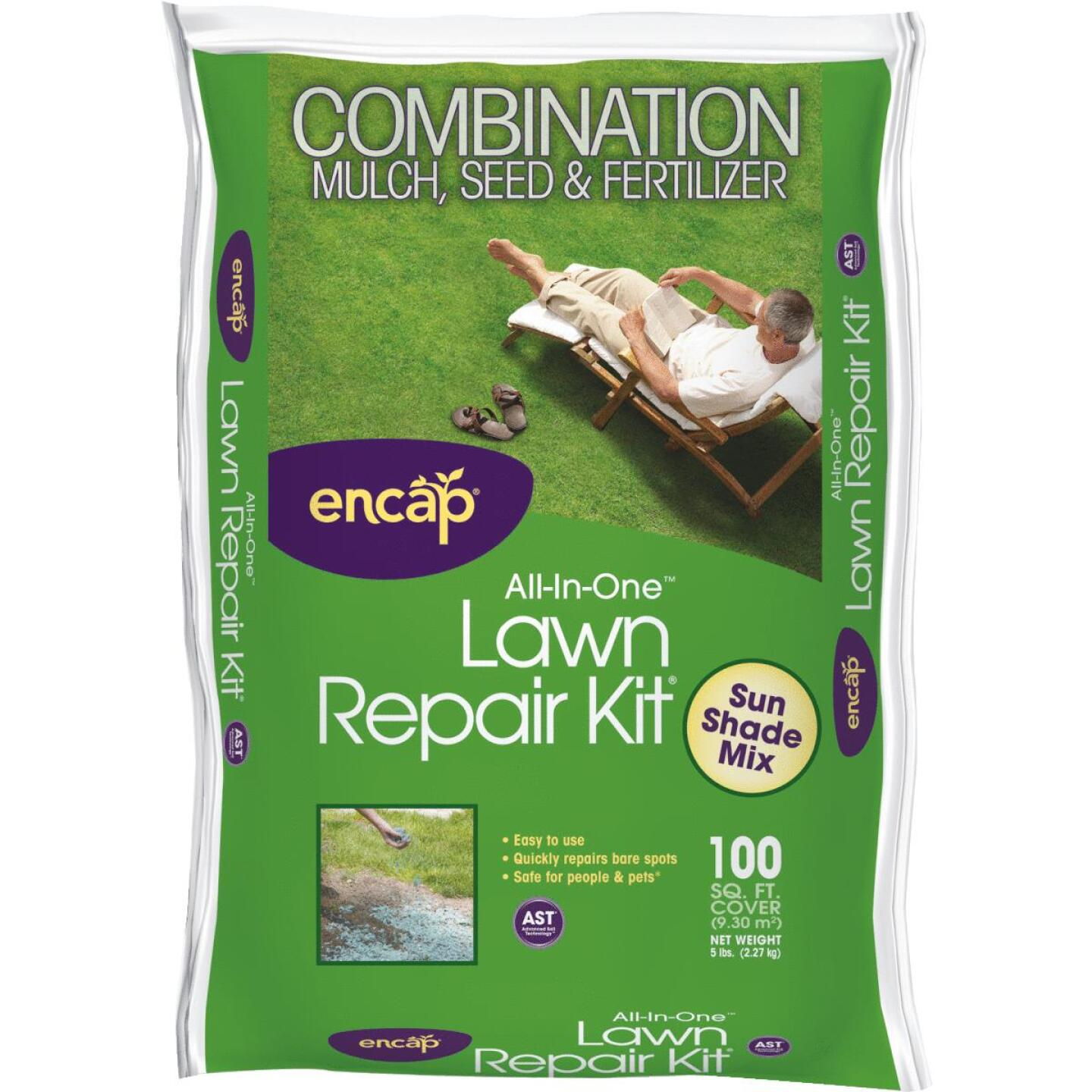 Encap 5 Lb. 100 Sq. Ft. Coverage Sun & Shade Grass Patch & Repair Image 1