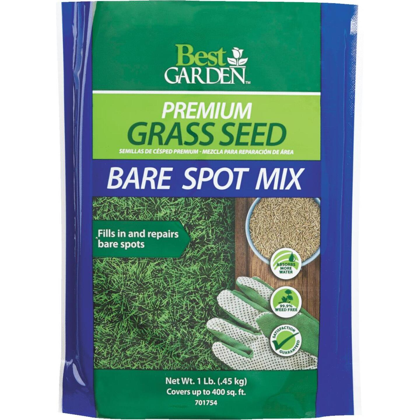 Best Garden 1 Lb. 250 Sq. Ft. Coverage Ryegrass, Red Fescue, & KY Bluegrass Grass Seed Image 1