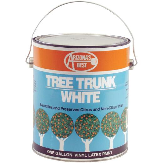 Arizona's Best White Vinyl Latex Paint 1 Gallon Tree Trunk Coating