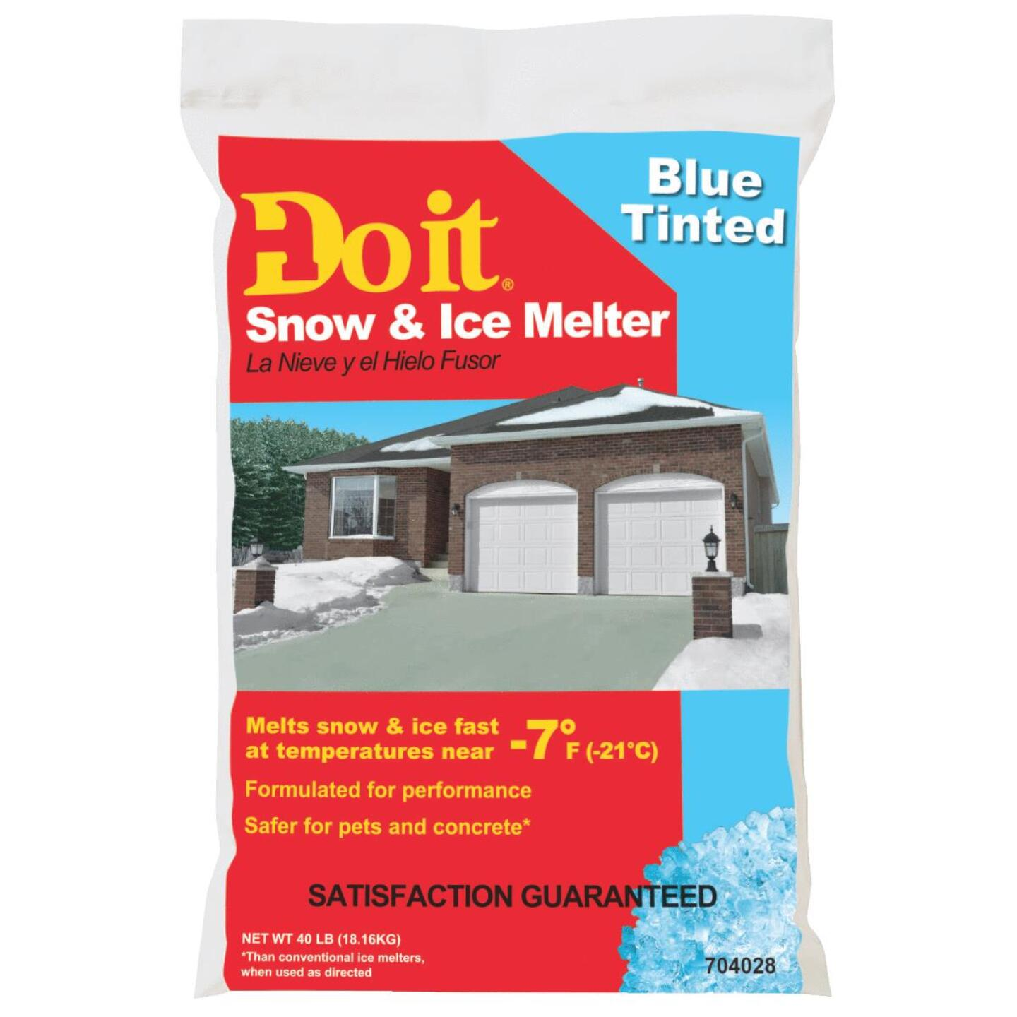 Do it 40 Lb. Blue Ice Melt Pellets Image 1